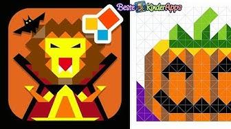 Halloween Motive zeichnen für Kinder 🎃 Gratis Zen Studio App