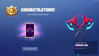 *UNLOCKING* The Harmonic Axes In Fortnite...!!!