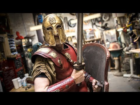 Adam Savage's New Thracian Warrior Armor!