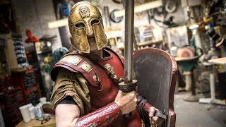 Adam Savage&#39s New Thracian Warrior Armor!