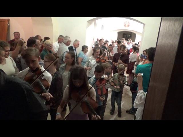 Métatábor 2018 - Koncert vége - kivonulás - dudadallam