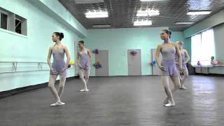 Открытый урок-экзамен по классическому танцу.
