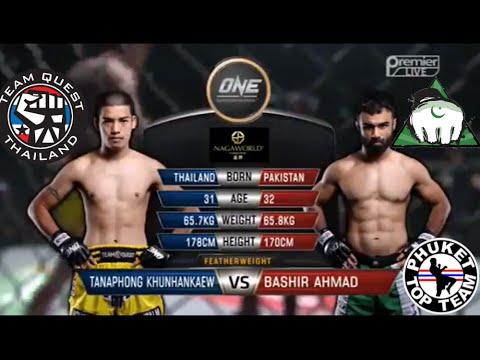Bashir Ahmad vs Tanaphong Khunhankaew, ONE FC  Roar of Tigers - Malaysia