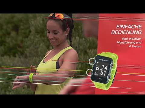 "Video: Sigma Fitnessuhr ""iD TRI"""
