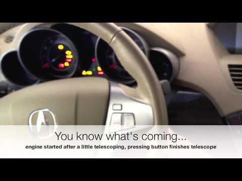 Acura MDX '07 Steering Wheel Problem
