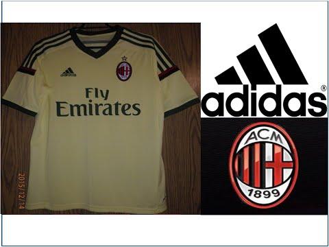 Adidas AC Milan Away Jersey 2014 2015 Stop Motion