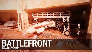 Reshade Mod | No HUD 4K 60fps Battlefront Gameplay 21:9