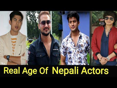 नेपाली नायक हरुको वास्तविक उमेर || Real Age Of Nepali Actors || Anmol Kc, Rajesh Hamal, Paul, Aakash