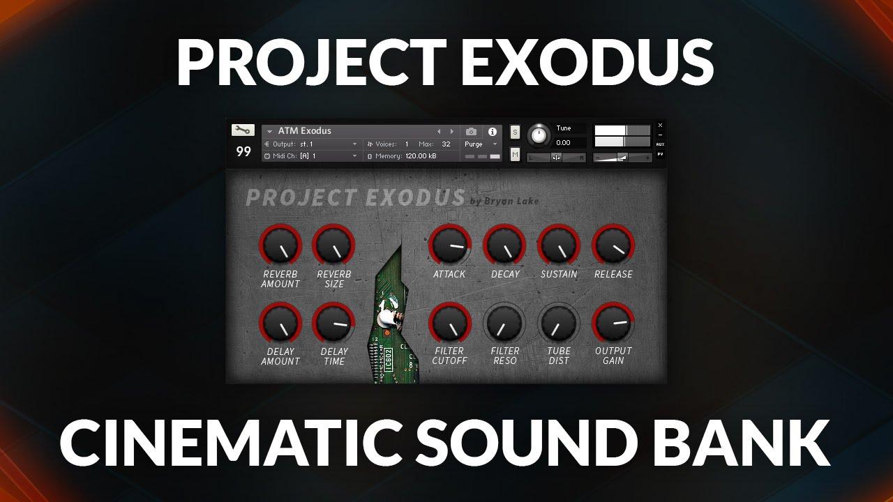 FREE Kontakt Library Project Exodus   99Sounds