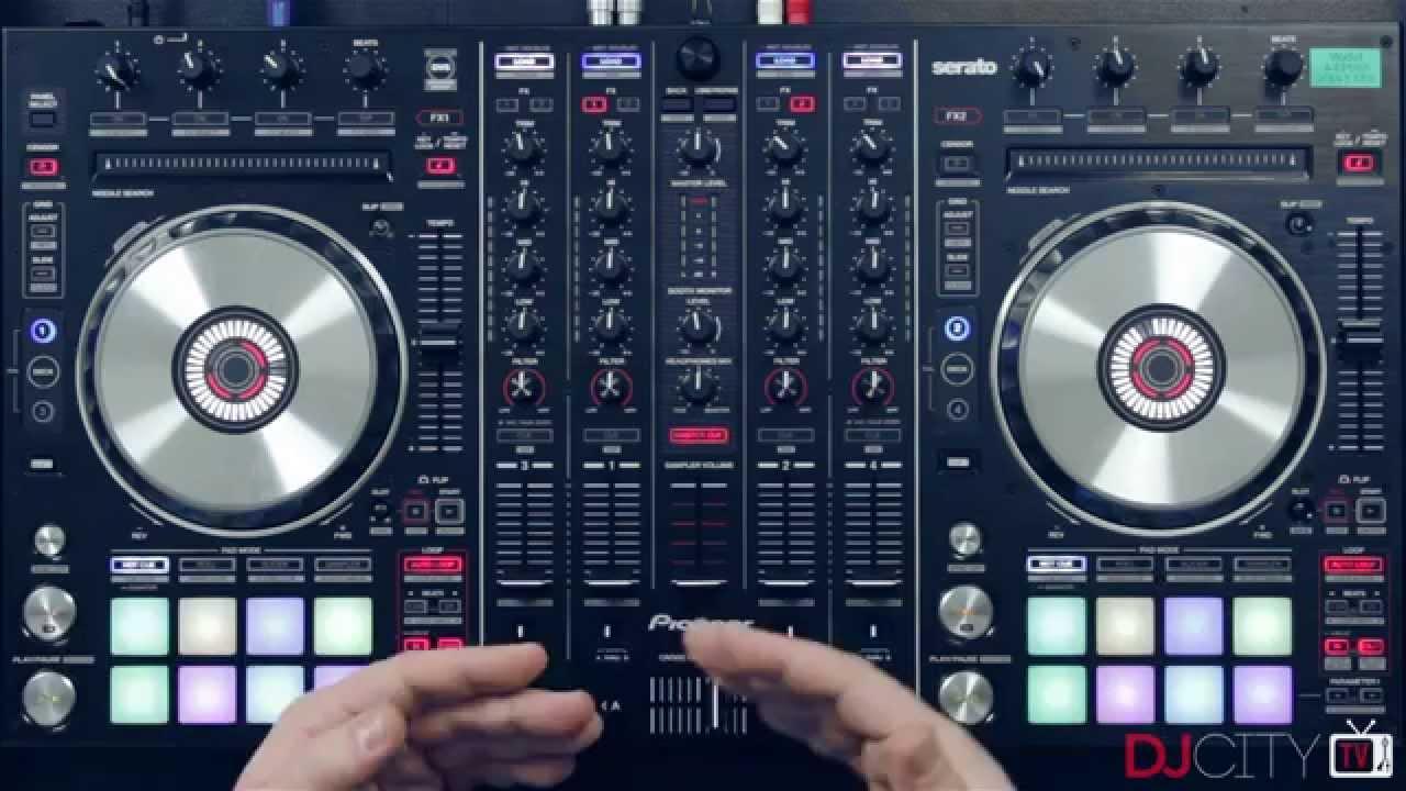 DDJ SX PIONEER PRO DJ SERATO MIDI CONTROLLER