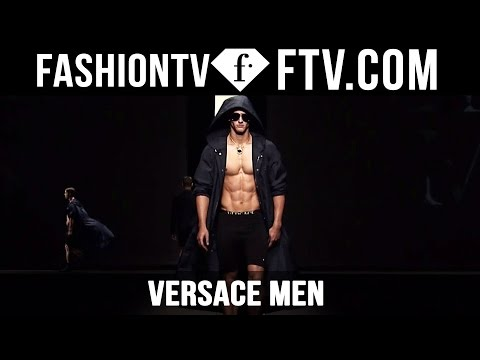 Milan Men Fashion Week Spring/Summer 2017 - Versace | FashionTV