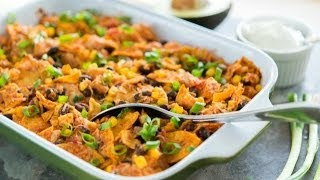 Tex Mex Chicken Casserole Recipe - Quick & Easy Dinner