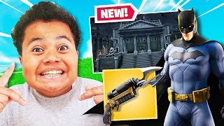 *NEW* BATMAN SKIN IN FORTNITE! *NEW* GOTHAM CITY TILTED TOWERS! FAZE KAYLEN FORTNITE GAMEPLAY!