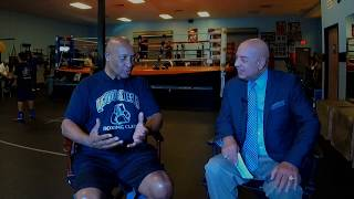 Joe Cortez with special guest IBHOF Referee Richard Steele