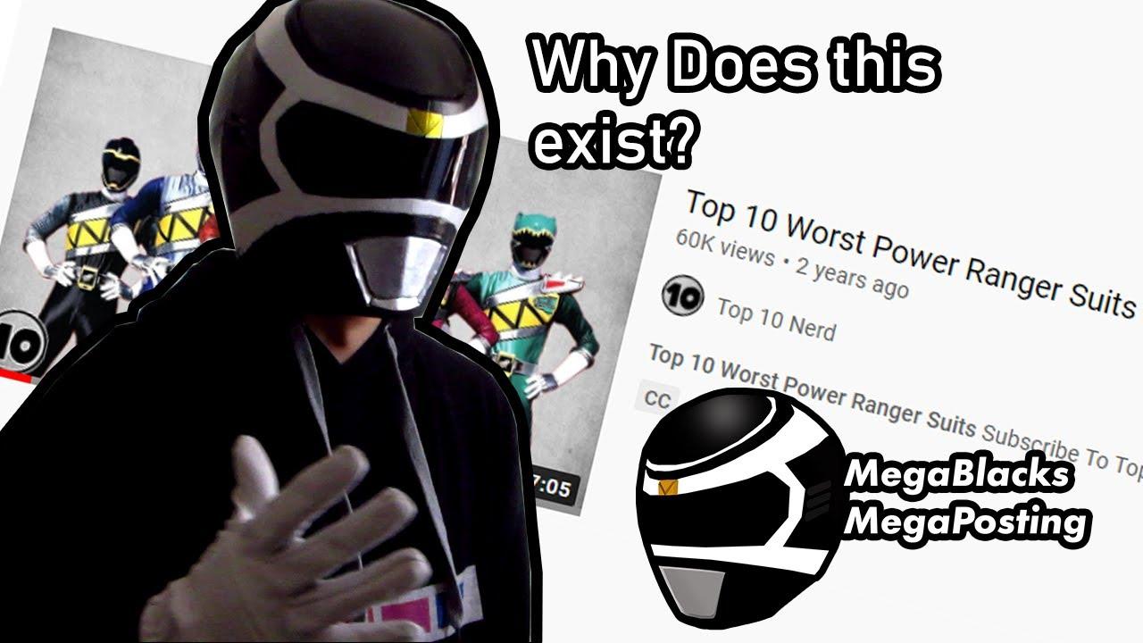 Don't Watch Top 10 Nerd (MegaBlack's MegaRants #1)