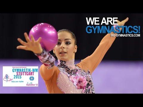 FULL REPLAY: 2015 Rhythmic Worlds, Stuttgart (GER) - Hoop + Ball Finals - We Are Gymnastics !