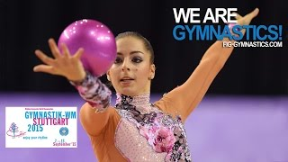 Full Replay: 2015 Rhythmic Worlds, Stuttgart (ger) - Hoop + Ball Finals - We Are Gymnastics !