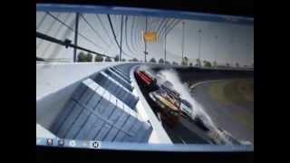 crash NASCAR 14 Daytona compilation