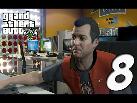 Grand Theft Auto 5 Gameplay Walkthrough | Part 8 - Nerd Status
