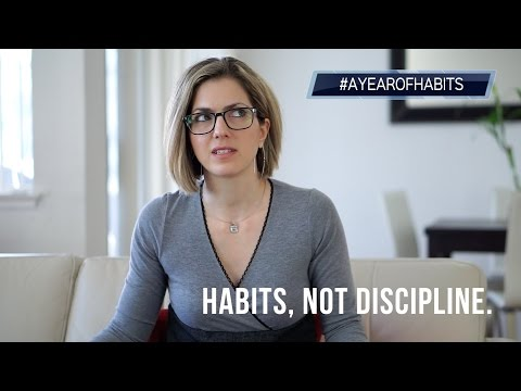 #AYEAROFHABITS Episode 2 - Habits, not discipline.