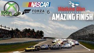 FORZA 6 : NXRL FORZA CUP - AMAZING NASCAR FINISH AT WATKINS GLEN