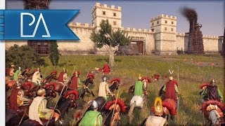 MACEDON'S GLORIOUS SALLY OUT! - Siege Battle - Total War: Rome 2