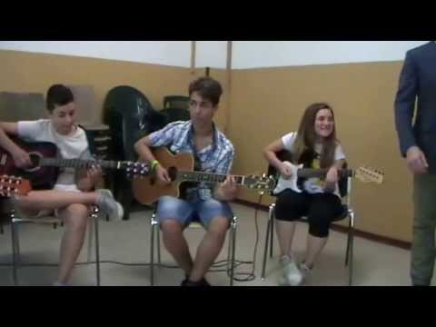 SAGGIO FINALE - FINE CORSO CHITARRA (5 SONGS) 2012/2013