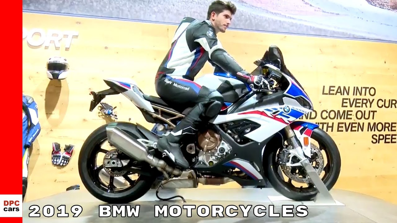 2019 BMW Motorcycles At EICMA 2018