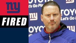 Rob Gronkowski Suspended & Giants Fire Ben McAdoo