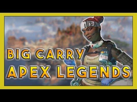 Big Carry in Apex Legends! - Seagull