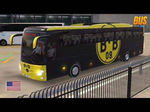 Brossia Dortmund Bus Mercedes Benz Tourismo S 19rhd Bus Simulator Ultimate From Houston To Austin Youtube