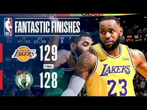Relive INSTANT CLASSIC Between Lakers And Celtics | February 7, 2019 thumbnail