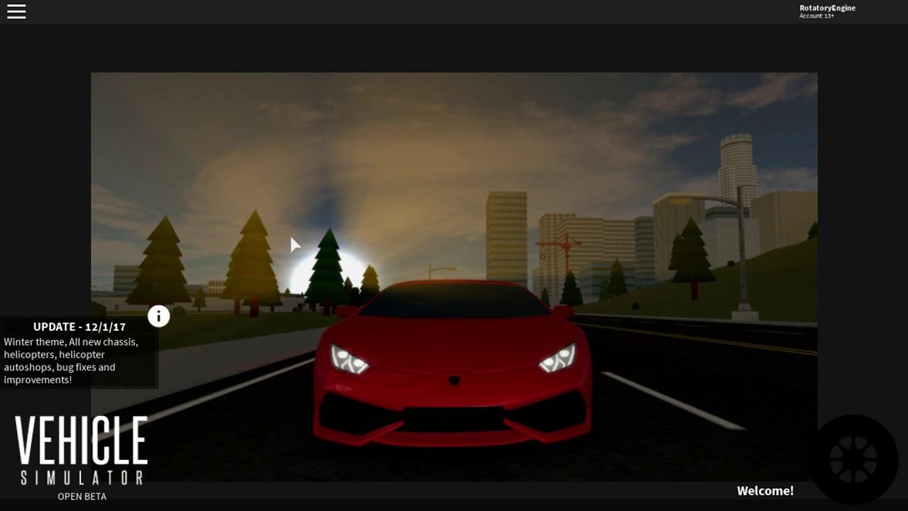 Vehicle Simulator: Roblox [CODES] WORKING! DECEMBER 2017 [NEW INSANE ...