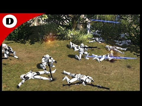 MALFUNCTIONING CLONE TROOPERS ~ Rico's Traitors 1 - Men of War: Star Wars Mod