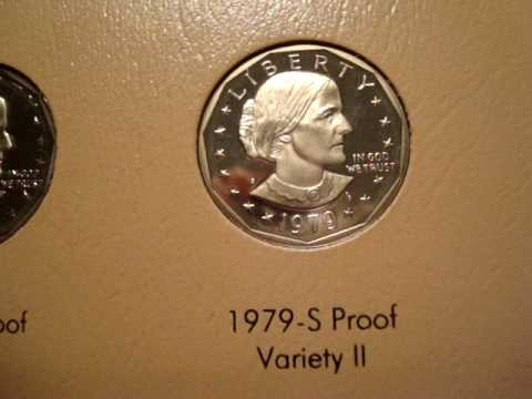 Complete Susan B. Anthony Dollar Collection