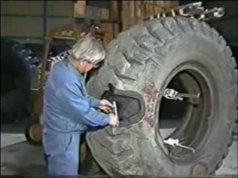 Технология воссстановления (ремонта) грузовых покрышек (шин)