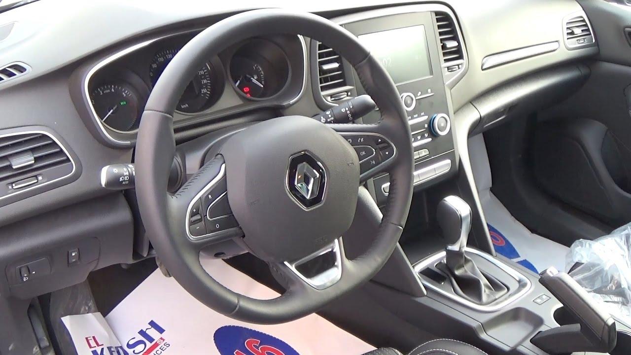 استعراض مواصفات رينو ميجان 2020 الفئه الثانيه Renault Megane Youtube