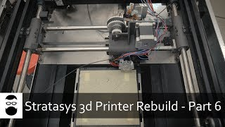 Stratasys 3D Printer Rebuild - Part 6:  Extruding Plastic