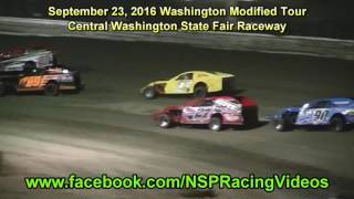Central Washington State Fair Raceway Washington Modified Tour Highlights