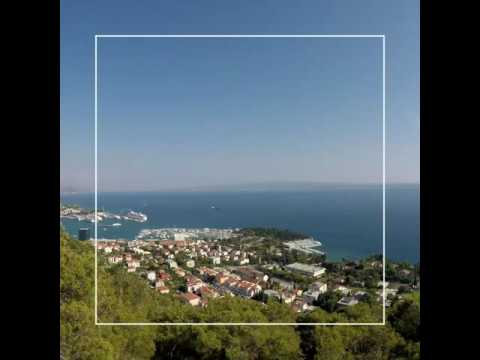 Split Harbour , Croatia, Timelapse