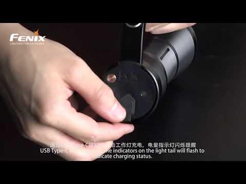 Senter Fenix WT50R Flashlight LED Rechargeable