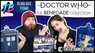 Doctor Who Titans Vinyl Figures (FULL CASE UNBOXING) The Renegade Collection - Entertainment Earth