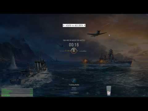 World of warships - AXIS vs ALLIES match 1 season 1