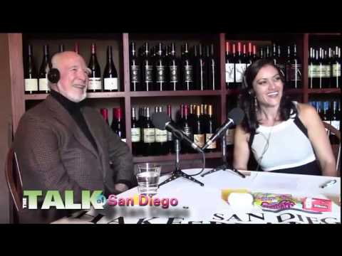 The Talk of San Diego Radio Show out at The Cosmopolitan Hotel & Restaurant with Susanna Peredo