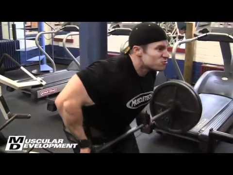 Mr. O. Jay Cutler & Seth Feroce Back training with Hany Rambod Part 1/2