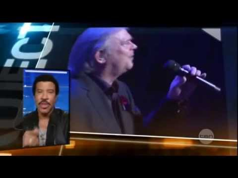 John Farnham And Lionel Richie - Project Show Interview