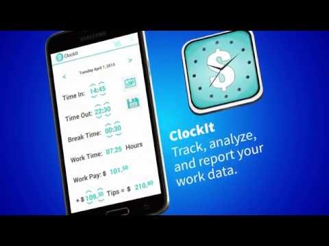 ClockIt Work Tracker for Android