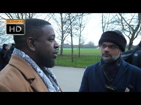 P1 - Jesus is Divine?! Hashim vs Visitor | Speakers Corner | Hyde Park