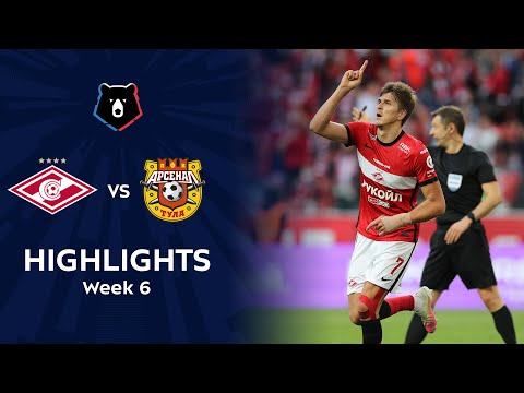 Spartak Moscow Arsenal Tula Goals And Highlights