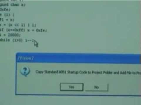 การเขียนโปรแกรมด้วยภาษา C (Keil)